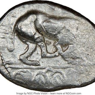 CYPRUS. Marion. Sasmas (ca. 470-450 BC). AR stater (25mm, 6h). NGC VF....