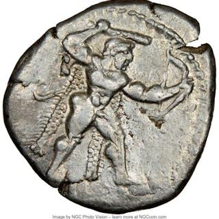 CYPRUS. Citium. Azbaal (ca. 449-425 BC). AR stater (23mm, 11.05 gm