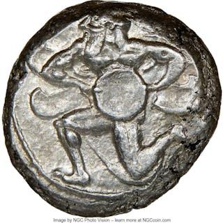 CILICIA. Mallus. Ca. 440-385 BC. AR stater (20mm, 11.22 gm, 12h).