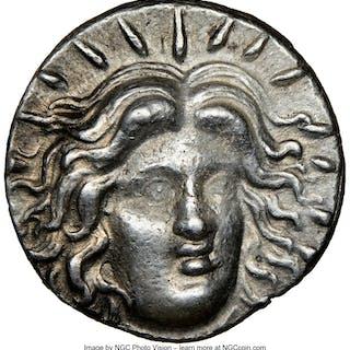 CARIAN ISLANDS. Rhodes. Ca. 230-205 BC. AR tetradrachm (25mm, 13.56