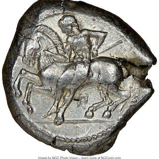 CILICIA. Celenderis. Ca. 425-350 BC. AR stater (20mm, 10.93 gm, 7h).