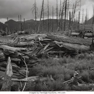 Frank Gohlke (American, b. 1942) Five Views of Mount St. Helen (5