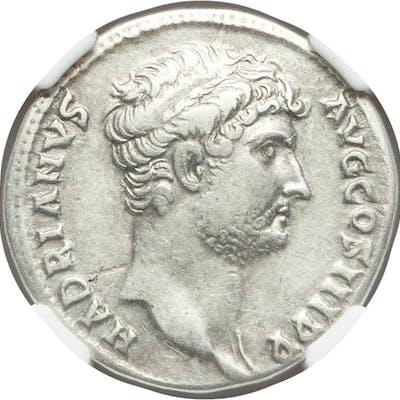 Hadrian (AD 117-138). AR cistophorus (28mm, 10.86 gm, 7h). NGC XF 5/5 - 4/5....