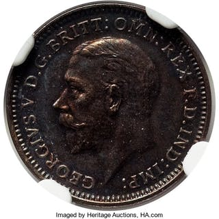 George V 6-Piece Certified silver Proof Set 1927 NGC, ... (Total: 6 coins)
