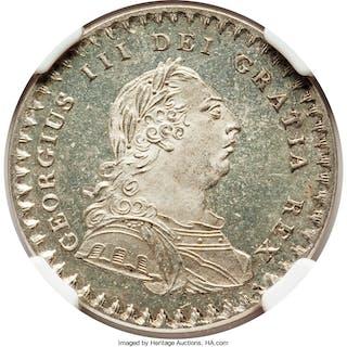 George III Proof 18 Pence (1 Shilling 6 Pence) Token 1811 PR64 Cameo NGC,...
