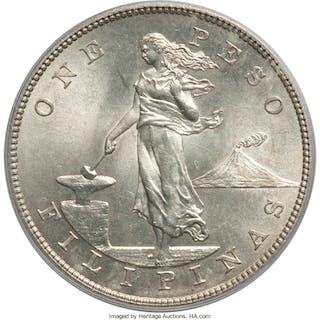 USA Administration Peso 1904 MS64 PCGS,...