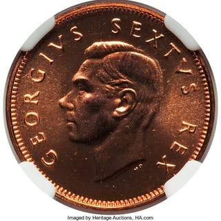 Elizabeth II 9-Piece Certified Set 1952 NGC,... (Total: 9 coins)