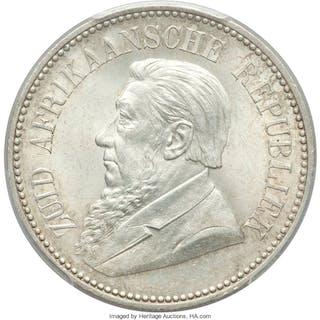 Republic 2-1/2 Shillings 1897 MS63 PCGS,...