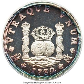 """Estados Unidos 5-Piece Certified silver """"14th International Numismatic"""