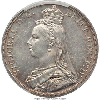 Victoria Crown 1889 MS64 PCGS,...