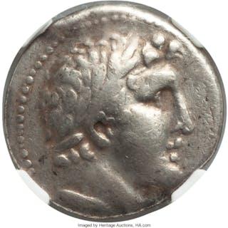 PHOENICIA. Tyre. Ca. 126/5 BC-AD 67/8. AR shekel (26mm, 14.03 gm