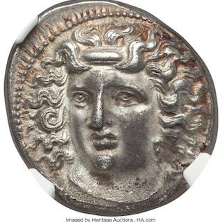 THESSALY. Larissa. Ca. 4th century BC. AR drachm (18mm, 6.06 gm, 6h).
