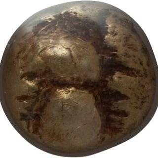 IONIA. Ephesus. Ca. 600-550 BC. EL sixth-stater or hecte (10mm, 2.33