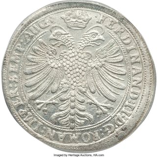 Nürnberg. Free City Taler 1629 MS63 PCGS,...