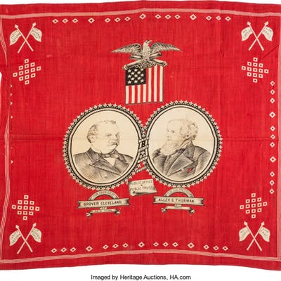 Cleveland & Thurman: Jugate Turkey Red Bandana.  ...