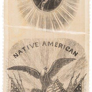 [Henry Clay]: Native American 4th Ward Ribbon.  ...