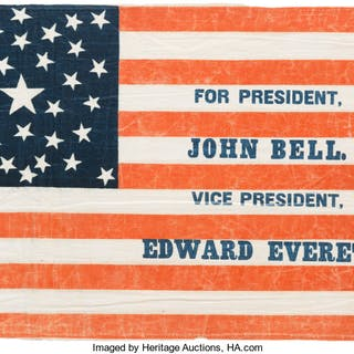 John Bell: Campaign Parade Flag. ...
