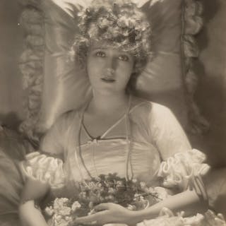 Baron Adolf de Meyer (French, 1868-1949) Mary Pickford in her Wedding