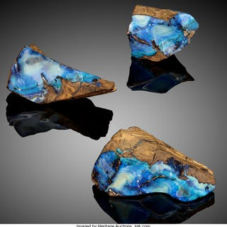 Boulder Opals Quilpie, Quilpie Shire Queensland Australia  ... (Total: 3 Items)