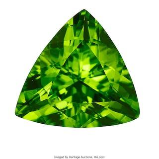 Gemstone: Peridot - 11.64 Cts. Pakistan  ...