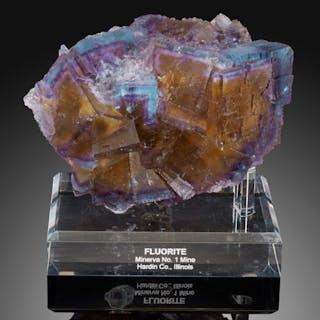 Fluorite Minerva No. 1 Mine (Ozark-Mahoning No. 1 Mine) Ozark-Mahoning