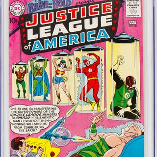 Brave and the Bold, The #30 Justice League of America