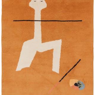 After Joan Miró (Spanish, 1893-1983) Circus, 1965 Wool 77-1/4 x 58
