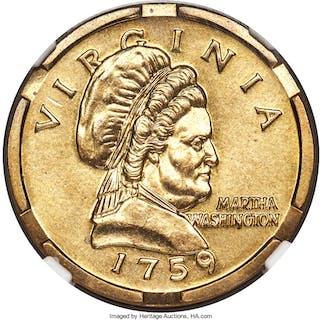 (1999) $1 1759 Martha Washington, J-2185, MS