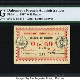 Dahomey Gouvernment General de l'Afrique Occidentale Francaise 0.50