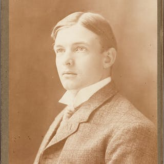 1900's Christy Mathewson Cabinet Photograph--Image Used for 1915 Cracker