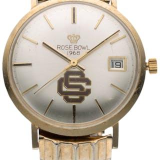 1968 USC Trojans Rose Bowl Presentational Watch.