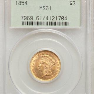 1854 $3