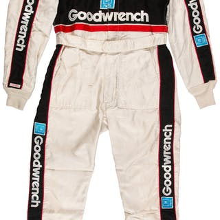 1991 Dale Earnhardt, Sr. Race Worn & Signed Fire Suit.