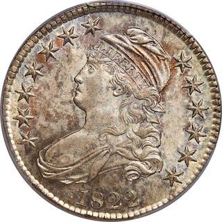 1822 50C O-105, MS