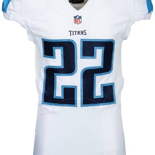 2016 Derrick Henry Game Issued Tennessee Titans Rookie Jersey.