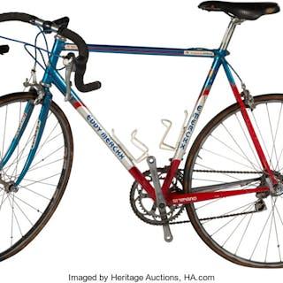 1992-94 Lance Armstrong Used Team Motorola Eddy Merckx Bicycle.