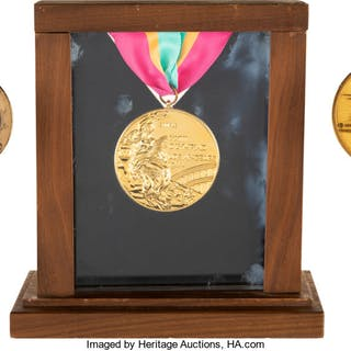 1984 Los Angles Summer Olympic Games Gold Medal, Participation Medal