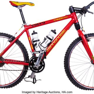 "Circa 2000 David ""Tinker"" Juarez Race Used Mountain Bike."