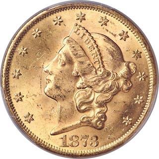 1873 $20 OPEN 3
