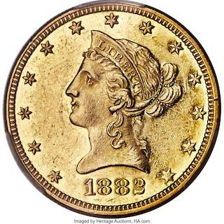 1882-O $10, PL