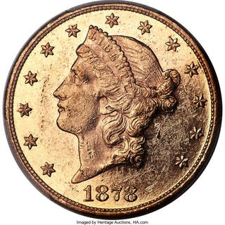 1878 $20, PL