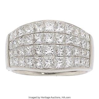 Diamond, Platinum Ring ...