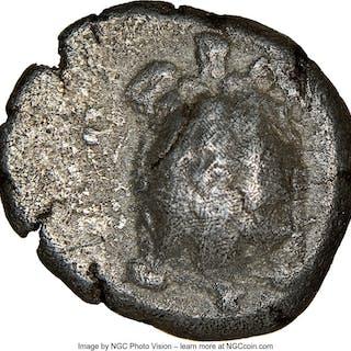 SARONIC ISLANDS. Aegina. Ca. 457-350 BC. AR stater (20mm, 12.04 gm).