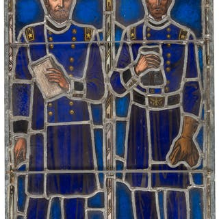 Ulysses S. Grant and William Tecumseh Sherman: Stunning Stained Glass