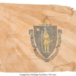 Massachusetts State Flag. ...