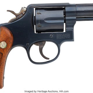 Smith & Wesson Model 13-4 Double Action Revolver. ...