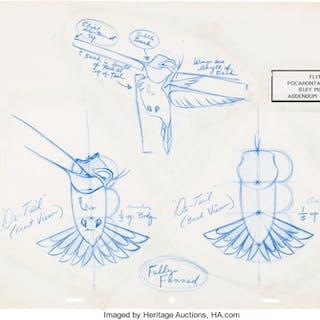 Animation Art #Model Sheet