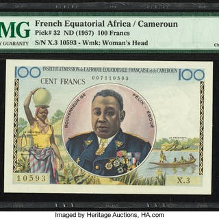 French Equatorial Africa Institut d'Emission de l'Afrique Equatoriale