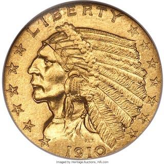 1910 $2 1/2