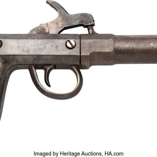 Steel Frame Single Shot Pistol. ...